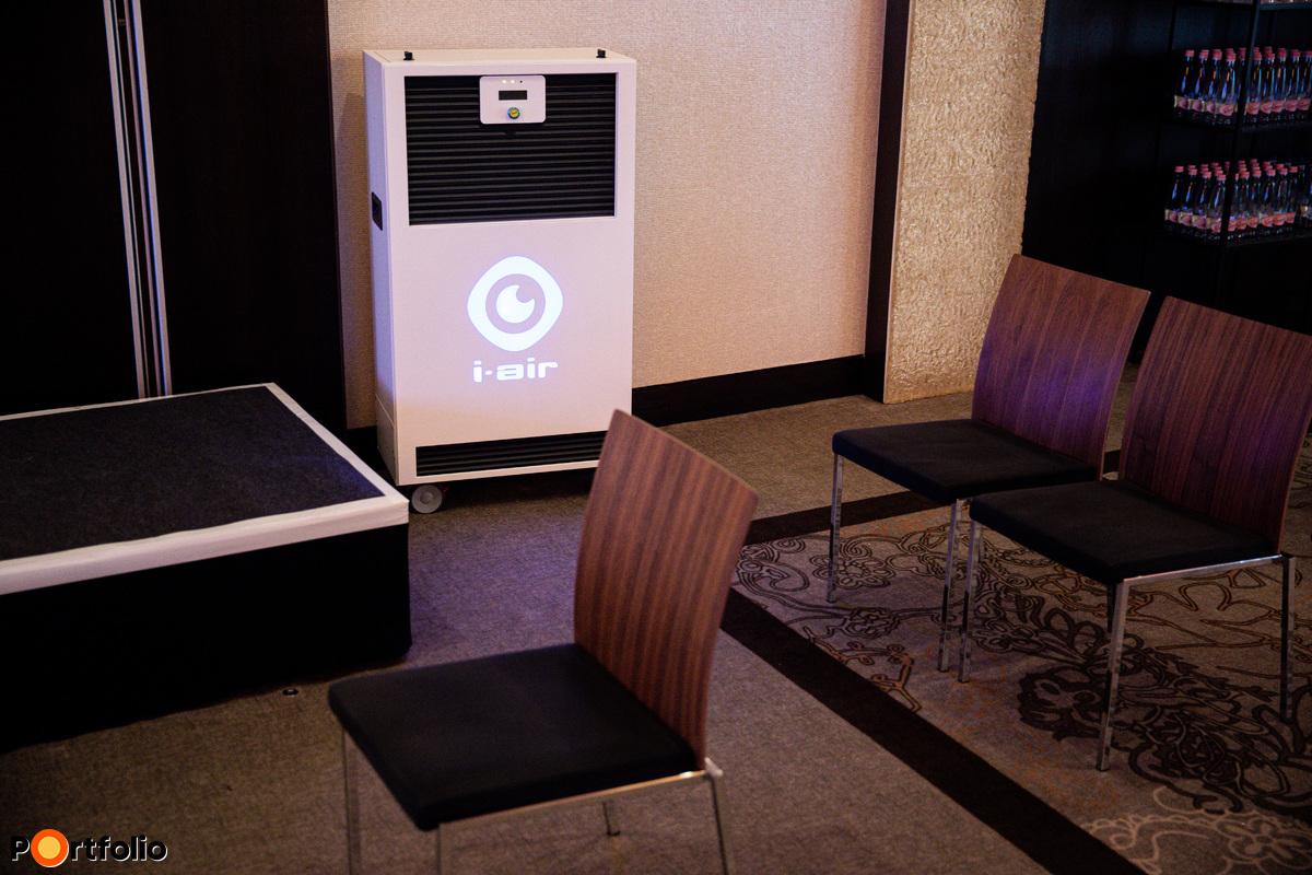 Légfertőtlenítő és tisztító gépet üzemeltettünk a nap folyamán