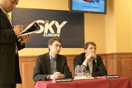 Alain Skowronek (elnök) és Christian Mandl (ügyvezető igazgató)