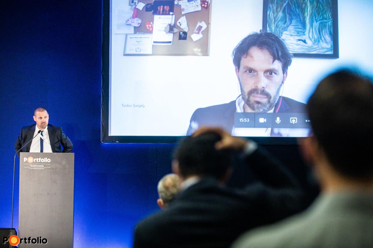 Tardos Gergely (igazgató, OTP Bank, Elemzési Központ) online tartotta meg előadását: Covid vs. ingatlanpiac makrogazdasági megközelítésben
