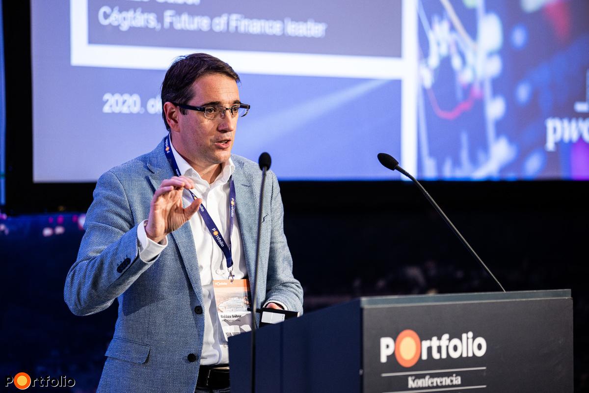 Balázs Gábor (cégtárs, PwC Magyarország): A pénzügyi terület érettsége és a jövő CFO-ja