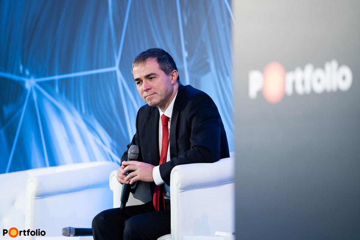 Biró Gergely (elnök-vezérigazgató, Diófa Alapkezelő) a helyszínről vett részt a panelbeszélgetésben.