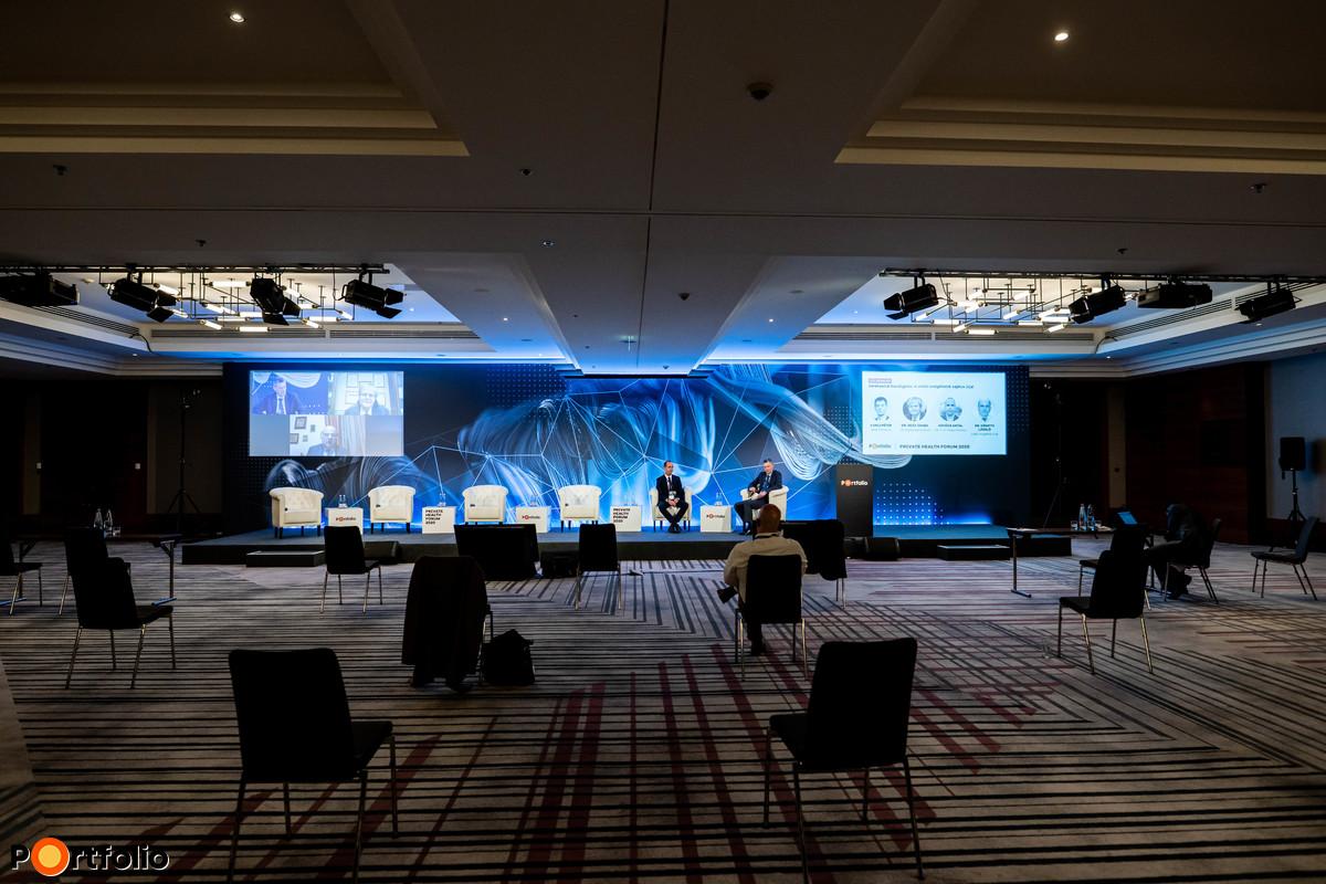 Idei Portfolio Private Health Forum konferenciánkat a Marriott Hotelből közvetítettük profi stáb és technika segítségével.