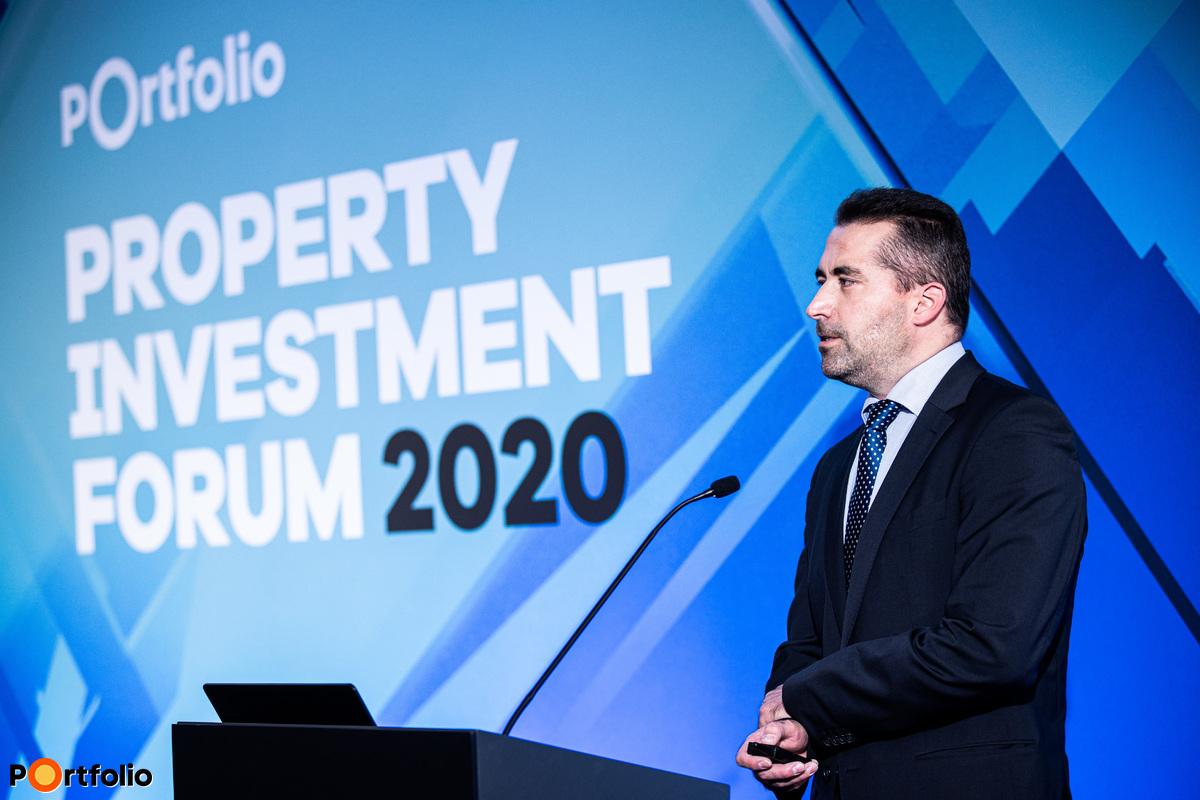 Az Év koncepciója prezentációk és szavazás: Czifra Balázs MRICS (Director - Sales, Asset Management, Business Development, InfoGroup)