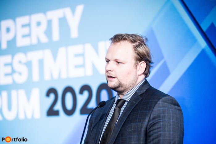 Takács Márton (igazgató, BDO): A szállodaipar helyzete és kilátásai 2020-ban és utána (Fotó: Stiller Ákos)
