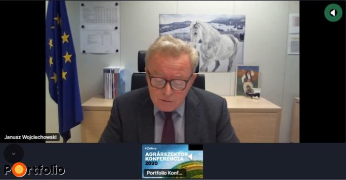 Janusz Czesaw Wojciechowski (agrárbiztos, Európai Bizottság) online csatlakozott: A Közös Agrárpolitika kilátásai a következő években