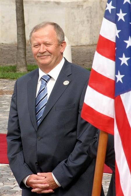 Gábor Kuncze, head of junior governing coalition party, the liberal Free Democrats (SZDSZ)