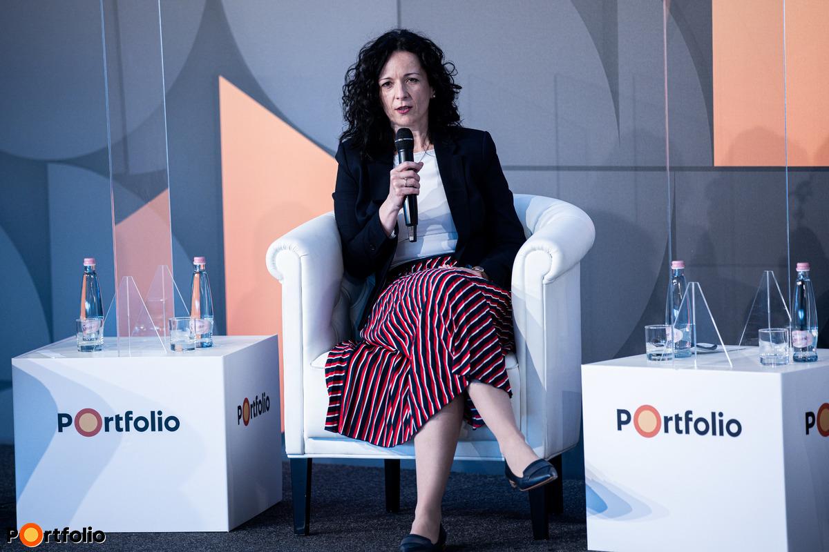 Tabányi Mónika (private banking igazgató, Concorde Értékpapír Zrt.)