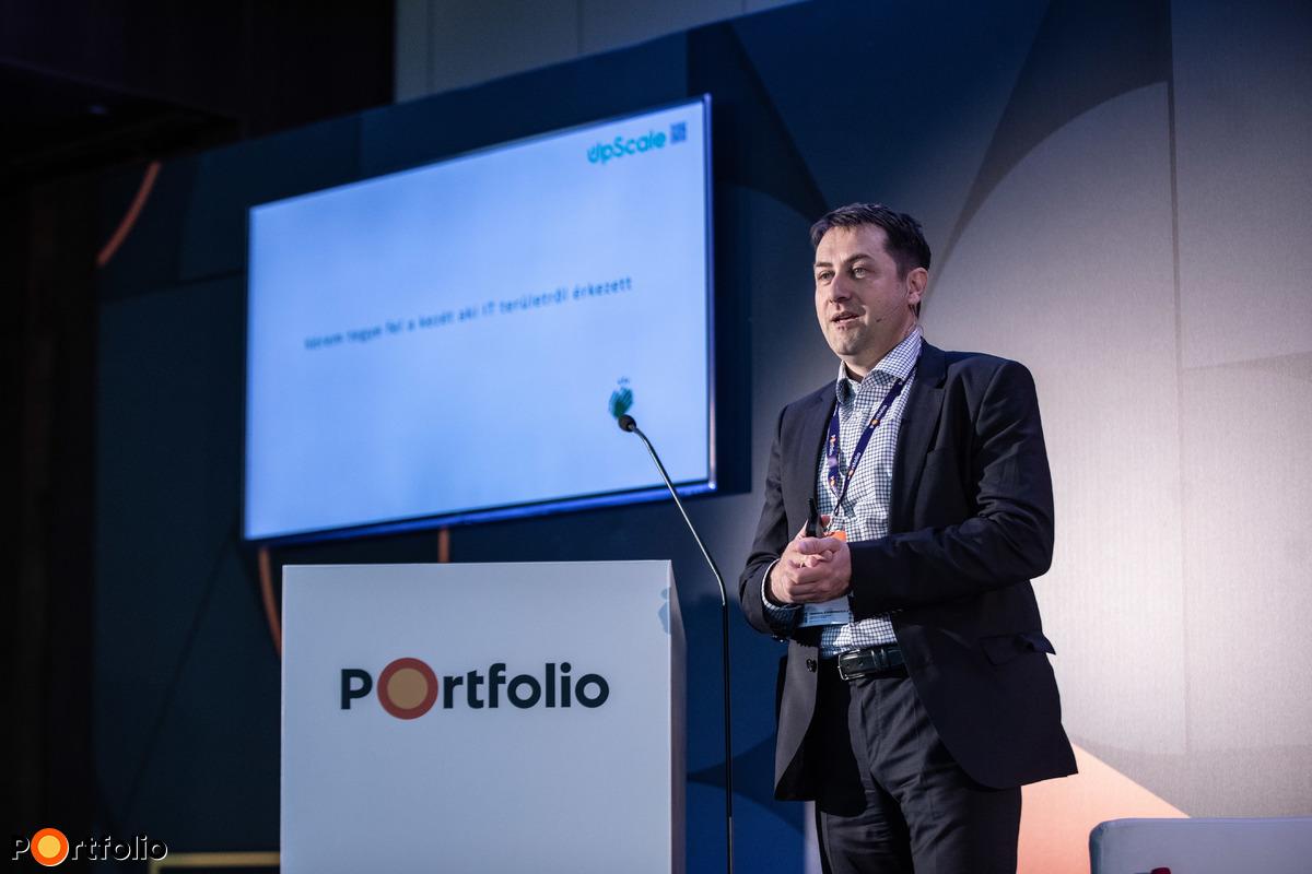 dr. Pintér Szabolcs (ügyvezető, UpScale): Modern technológiák enterprise környezetben