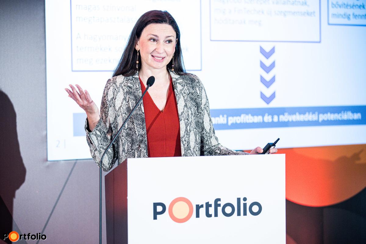 Szombati Anikó (digitalizációért és Fintech fejlesztésért felelős ügyvezető igazgató, Magyar Nemzeti Bank): Mit üzen a bankoknak az MNB digitális transzformációs ajánlása?