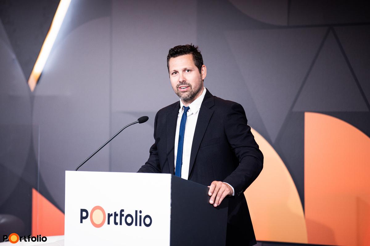 A konferencia házigazdája Ditróy Gergely, a Portfolio ingatlandivízió-vezetője volt.