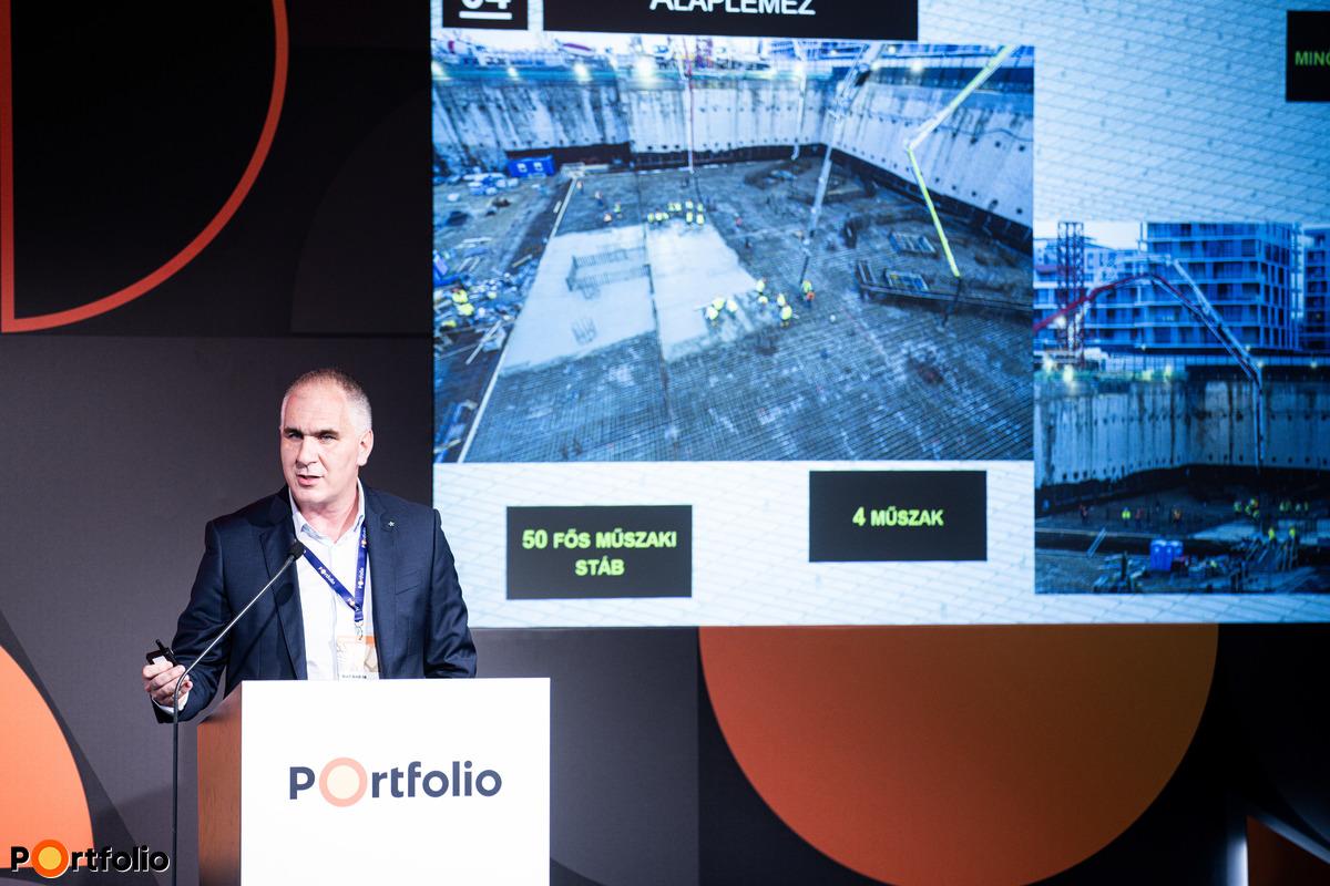 Wolf András (műszaki igazgató, Market Építő Zrt.): MOL Campus esettanulmány