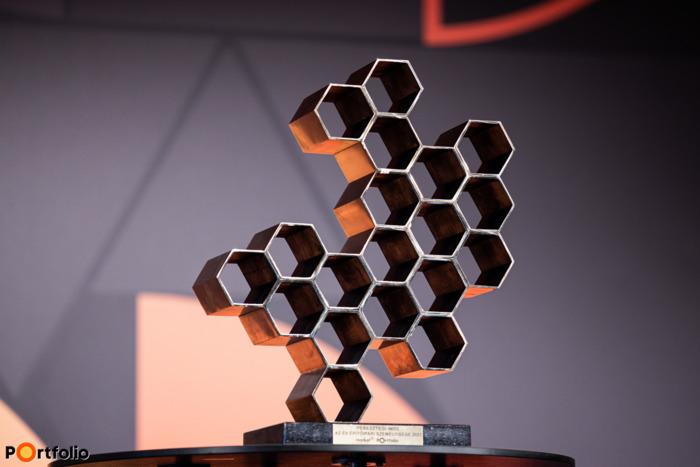 """""""Év Építőipari Személyisége"""" díj 2021-ben (Fotó: Stiller Ákos)"""