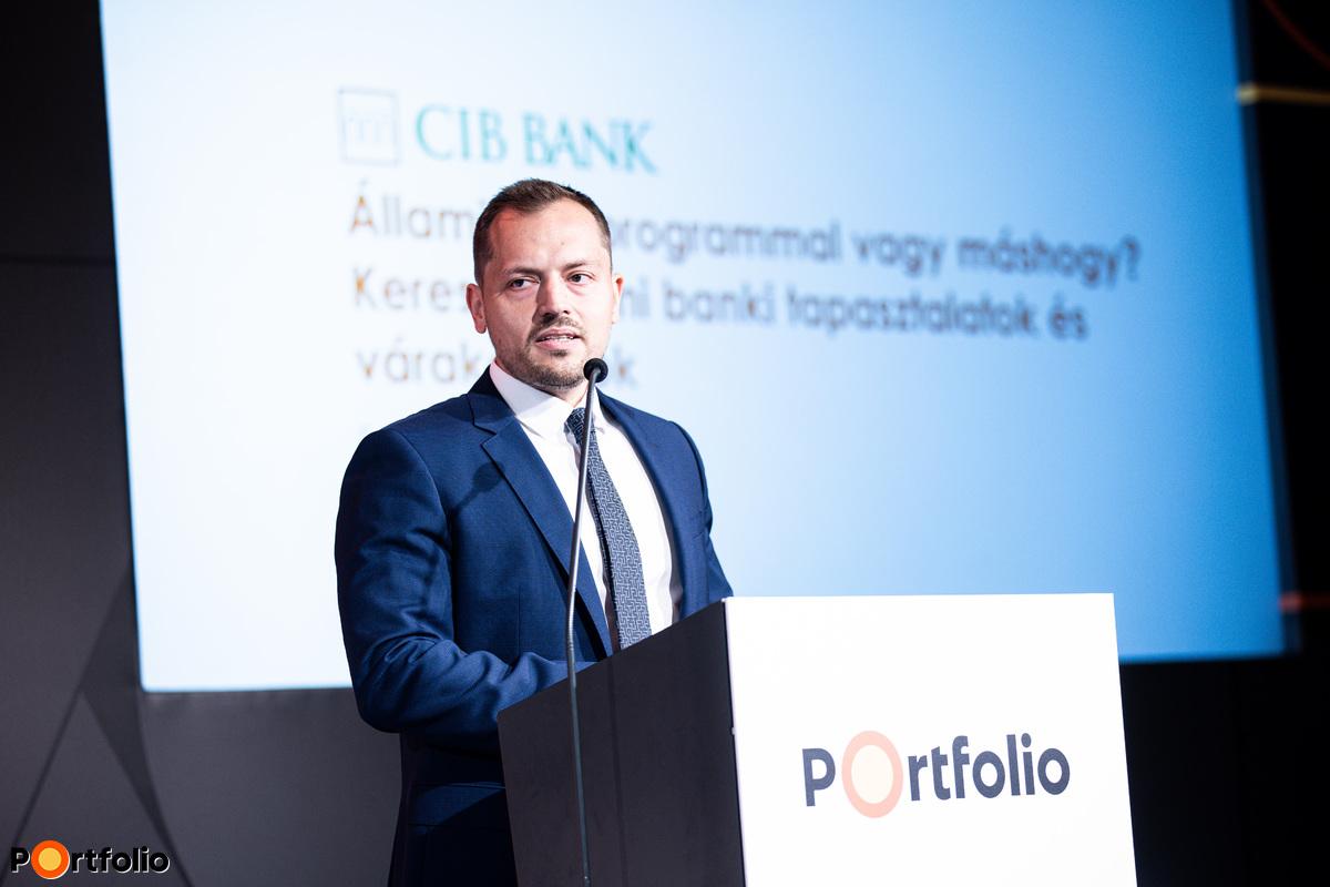 Fetter István (Kisvállalati Divízió vezető, CIB Bank): Állami hitelprogrammal vagy máshogy? Kereskedelmi banki tapasztalatok és várakozások