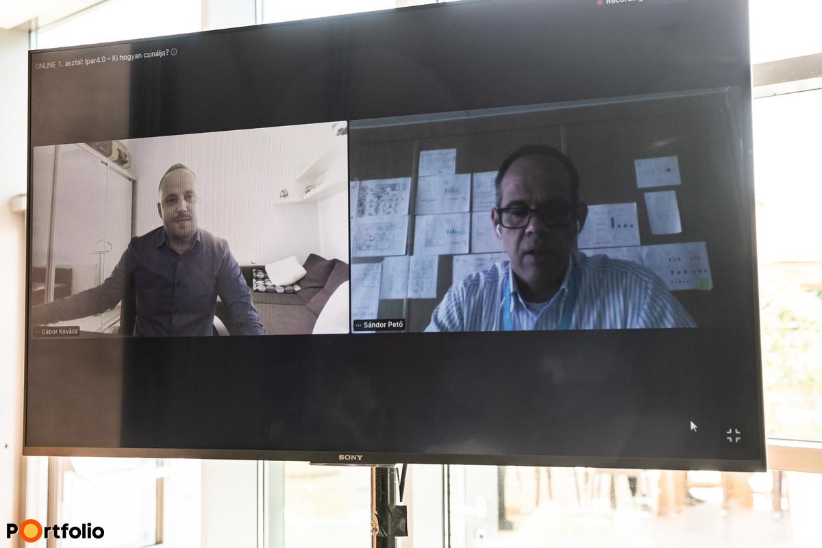 ONLINE 1. asztal: Ipar4.0 – Ki hogyan csinálja? Vállalati tapasztalatok és jó gyakorlatok megosztása. Témavezető: Pető Sándor (Lean tréner, tanácsadó és coach, PS Management Solution Kft.)