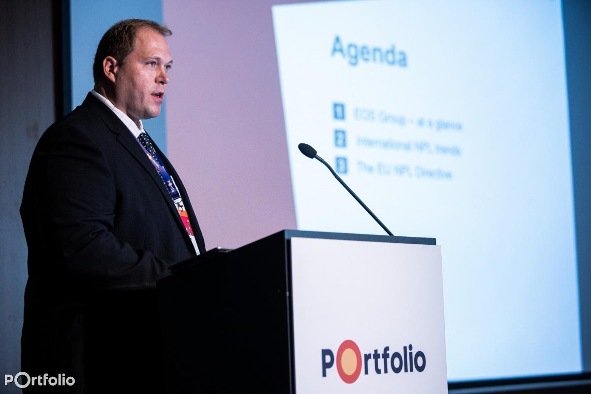 Baksa János (NPL Director Transactions Eastern Europe, EOS Holding): Nemzetközi trendek a kintlévőség kezelésben (Fotó: Stiller Ákos)
