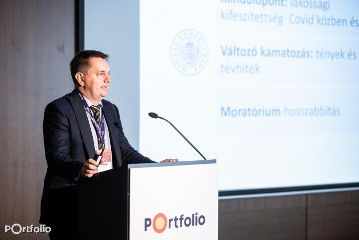 Fábián Gergely (ügyvezető igazgató, Magyar Nemzeti Bank): Hitelpiaci várakozások az MNB szemével (Fotó: Stiller Ákos)