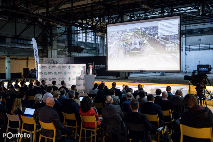 A Vasút a Duna alatt konferencia október 6-án került megrendezésre offline és online. (Fotó: Stiller Ákos)