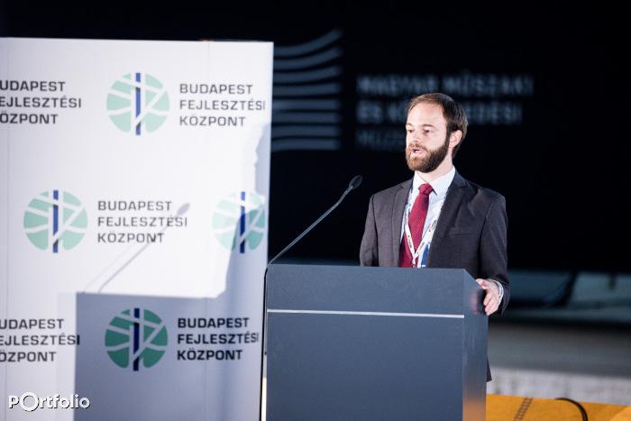 Antonio Beltrán Arranz (Principal Consultant, Steer): Finanszírozási mechanizmusok - Nemzetközi tapasztalatok (Fotó: Stiller Ákos)