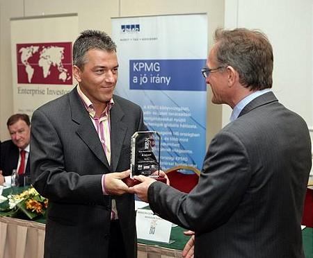 A budapesti második helyezett a Merlin Communications lett, a díjat Aranytóth László vette át