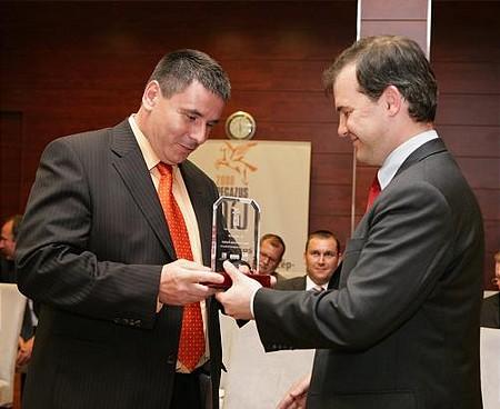 A kelet-magyarországi régió második helyezettje, a MetalCom Zrt. vezérigazgatója, Bozó Zoltán