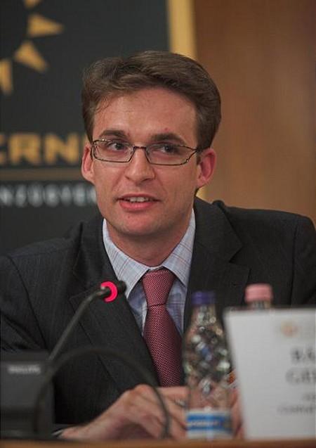 Bánfai Gergely, a CEC vezérigazgatója