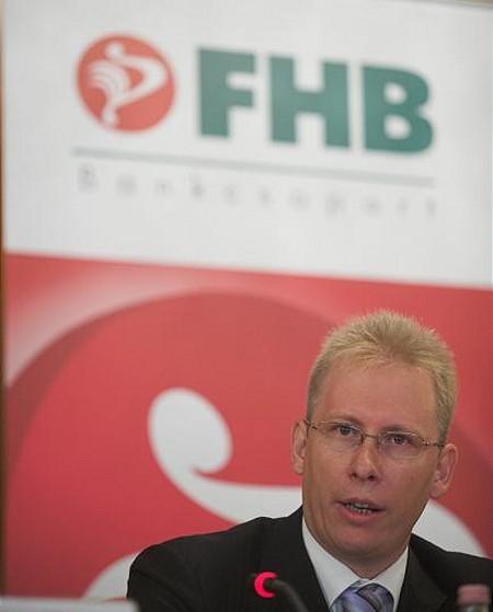 Szuda János, az FHB Jelzálogbank ügyvezető igazgatója