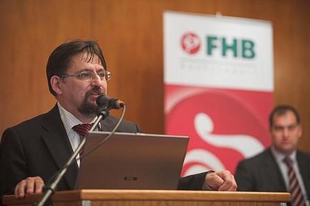 Gyuris Dániel, az FHB vezérigazgatója