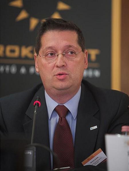 Harnos András, az Aegon Hitel Zrt. vezérigazgatója