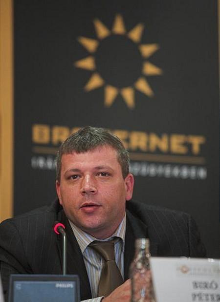 Biró Péter, a BRIOKERNET Csoporthoz tartozó BANKBROKER ügyvezető igazgatója