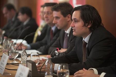 A panelbeszélgetésben részt vett Nagy Márton, a Magyar Nemzeti Bank, pénzügyi stabilitás helyettes vezetője