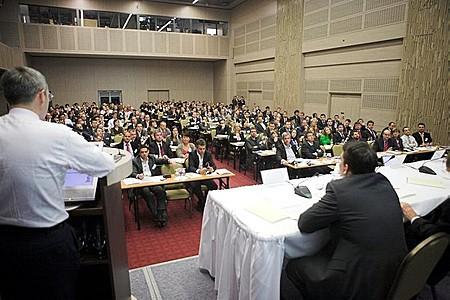 A konferencián mintegy 70 előadó osztotta meg gondolatait a hallgatósággal.