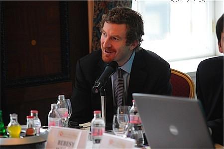 Martin Blum meglátása szerint a következő hónapok komoly kihívást jelentenek a magyar monetáris politika számára. (Martin Blum, BA-CA, ügyvezető igazgató, Head of EEMEA Markets Research & Strategy, Bécs)