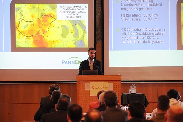 Gyimóthy Dénes a Pannergy-PanUnion vezérigazgatója, a geotermikus energiában rejlő lehetőségeket vázolta