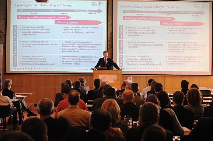 A Magyar Telekom Group elnök-vezérigazgatója, Christopher Mattheisen a hatékonyságra és az újrapozícionálásra helyezte a fő hangsúlyt