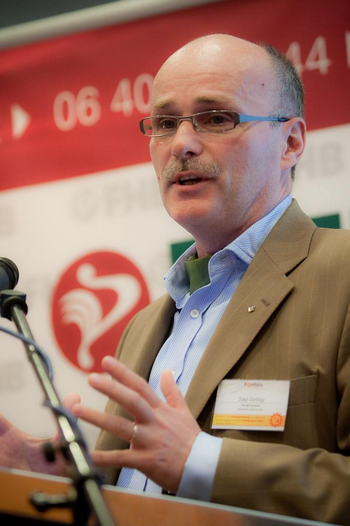 Preferenciaváltás a pénzügyi válság kapcsán az értékesítésben és az üzleti életben (előadó: Sági György ügyvezető, tulajdonos-társ, Gordio)