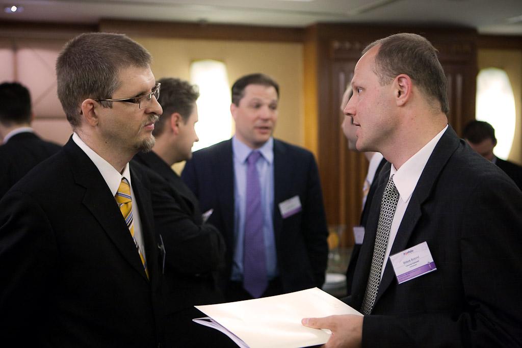 Zoltán Nagy (Head of Central and Eastern Europe Region, Eurizon Capital SGR S.p.A.) and Botond Bilibók (CEO, Concorde)