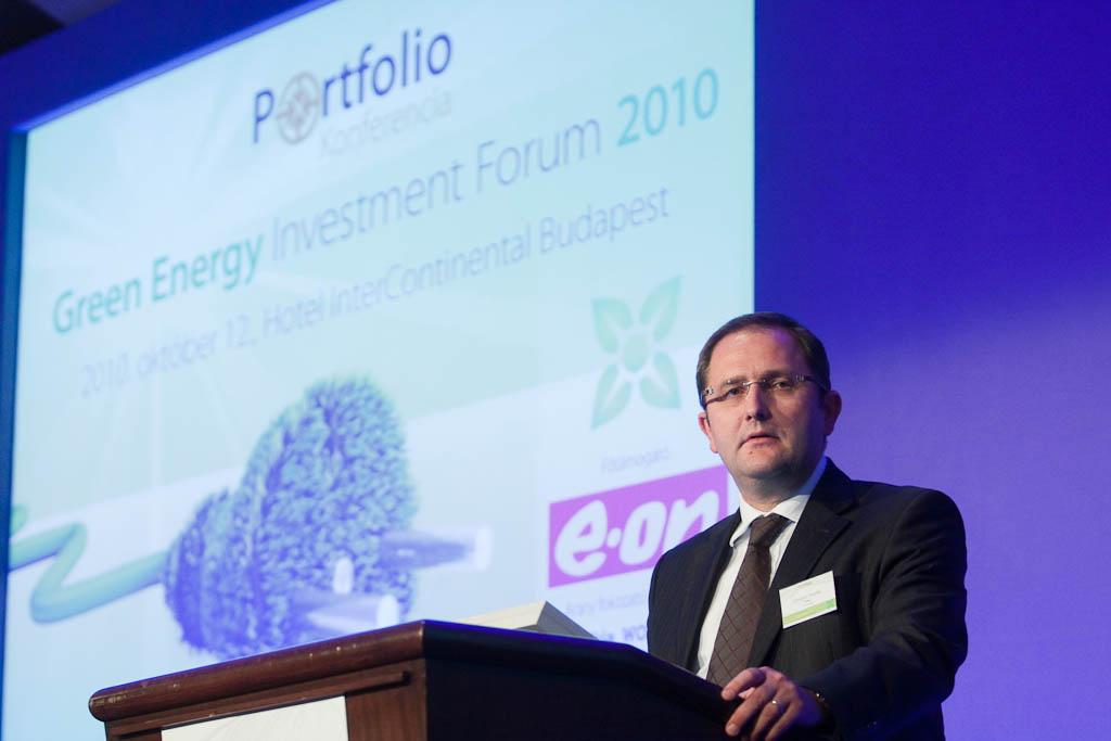 Grzegorz Zielinski, az EBRD senior bankára, a régiós fejlesztésekről és az EBRD szerepvállalásáról számolt be.