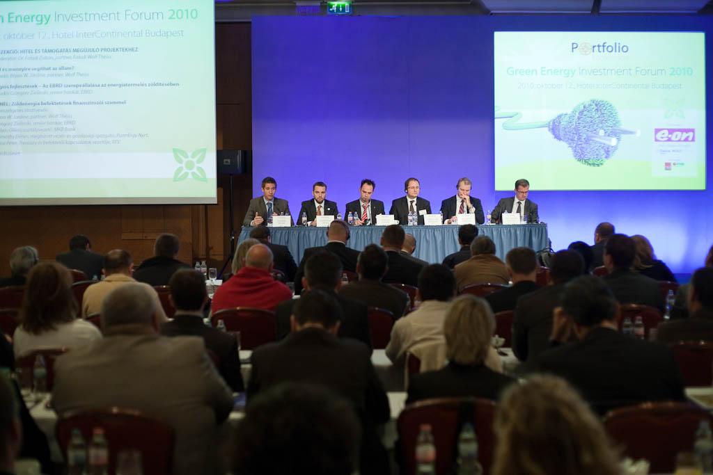 A Portfolio.hu szervezésében került megrendezésre Magyarországon egyedülálló, befektetési fókuszú régiós zöldenergia konferenciája.