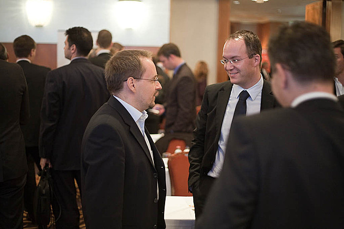 Portfolio.hu Green Energy Investment Forum 2010 networking