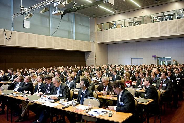 Portfolio.hu Property Investment Forum délelőtti szekció hallgatói.
