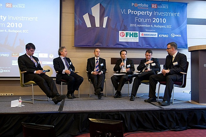 Portfolio.hu Property Investment Forum 2010 (November 4, 2010)