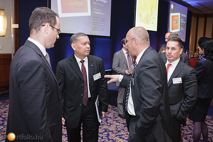 A Portfolio.hu Konferencián ezúttal is képviseltette magát a teljes magyar bankszektor.