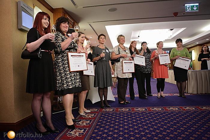 A 2011/2012-es NEssT-Citibank Társadalmi Vállalkozásfejlesztő Program győztesei.