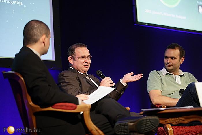 Sikertörténetekről szólt az ezt követő beszélgetés Lantos Csaba (üzletember, befektető), Somlai-Fischer Szabolcs (alapító, Prezi.com) és kollégánk Barát Szabolcs, CFA, (Portfolio.hu, elemzési igazgató) között.