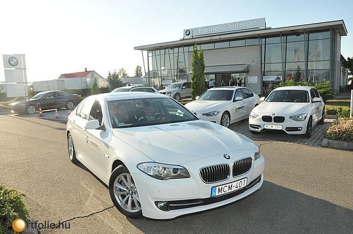 A Portfolio.hu - BMW KKV Roadshow nagy érdeklődéssel várt tesztvezetéssel és termékbemutatóval zárult.