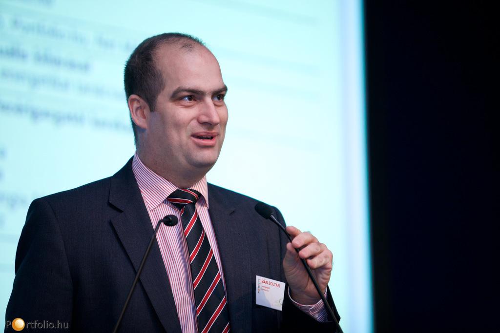 A nyitóbeszédet Bán Zoltán (vezérigazgató, Portfolio.hu, Net Média Zrt.) tartotta.