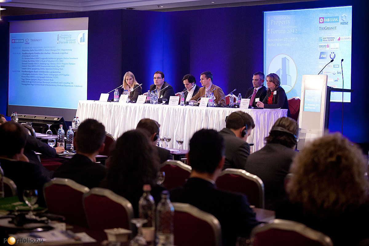 Értékbecslés viharban - Hozamok a régióban. Portfolio.hu Property Investment Forum 2012