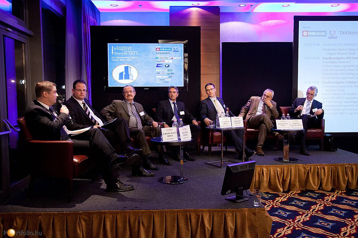 Portfolio.hu Property Investment Forum 2012 - Property Management / Corporate Real Estate