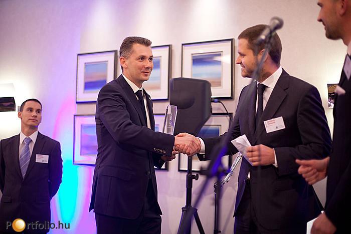 A konferencia résztvevőinek szavazatai alapján az 'Év Projektje' a K&H fővárosi székháza lett. A díjat Török Árpád MRICS, a TriGranit Fejlesztési Zrt. vezérigazgatója vette át.