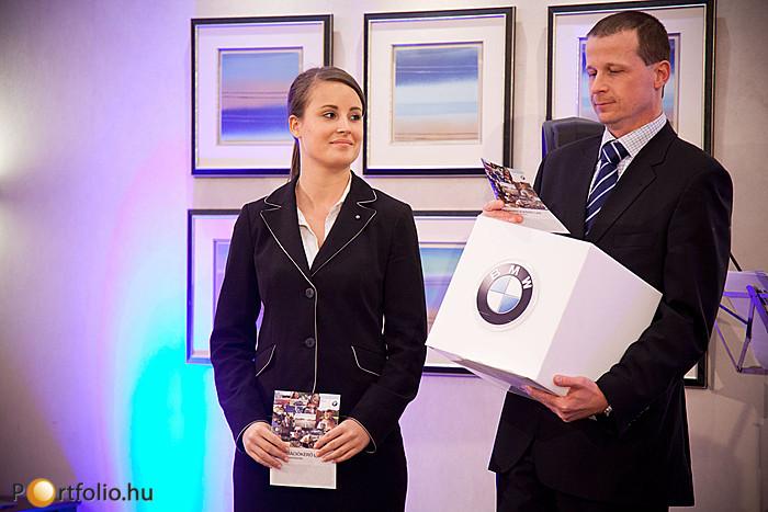 A BMW Group Magyarország három értékes nyereményt sorsolt ki a konferencia résztvevői között.
